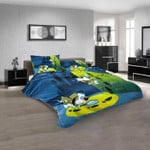 Cartoon Movies Droopy Dog V 3D Customized Personalized  Bedding Sets