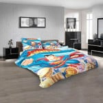 Cartoon Movies Superman The Animated Series  D 3D Customized Personalized  Bedding Sets