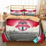 MLS Toronto FC 2 Logo 3D Personalized Customized Bedding Sets Duvet Cover Bedroom Set Bedset Bedlinen