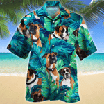 Boxer Dog Lovers Gift Hawaiian Shirt