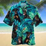 Doberman Pinscher Dog Lovers Gift Hawaiian Shirt