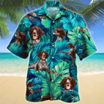 German Shorthaired Pointer Dog Lovers Gift Hawaiian Shirt