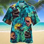 T-Rex Dinosaur Lovers Gift Hawaiian Shirt