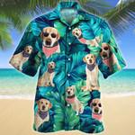 American Style Labrador Retriever Dog Lovers Gift Hawaiian Shirt