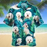 Bichon Frise Dog Lovers Gift Hawaiian Shirt