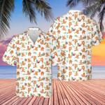 Golden Retriever Dog Lovers Funny Gift Hawaiian Shirt