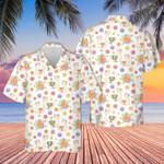Llama Lovers Funny Gift Hawaiian Shirt