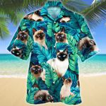 Siamese Cat Lovers Gift Hawaiian Shirt