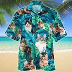 Maine Coon Cat Lovers Gift Hawaiian Shirt
