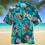 British Shorthair Cat Lovers Gift Hawaiian Shirt