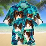 Papillon Dog Lovers Hawaiian Shirt