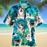 Alaskan Malamute Dog Lovers Hawaiian Shirt