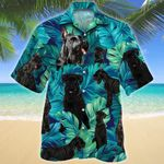 Giant Schnauzer Dog Lovers Hawaiian Shirt