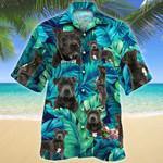 Staffordshire Bull Terrier Dog Lovers Hawaiian Shirt