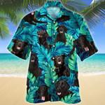 Flat-coated Retriever Dog Lovers Hawaiian Shirt