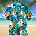 Borzoi Dog Lovers Hawaiian Shirt