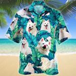 American Eskimo Dog Lovers Hawaiian Shirt