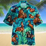 Thoroughbred Horse Lovers Hawaiian Shirt