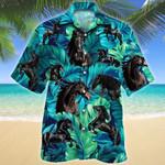 Friesian Horse Lovers Hawaiian Shirt