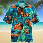 Warmblood Horse Lovers Hawaiian Shirt