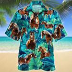 American Paint Horse Lovers Hawaiian Shirt