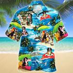 Bernese Mountain Dog Lovers Beach Vibe Hawaiian Shirt