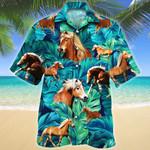 Haflinger Horse Lovers Hawaiian Shirt