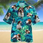 American English Coonhound Dog Lovers Hawaiian Shirt