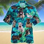 Cesky Terrier Dog Lovers Hawaiian Shirt