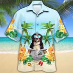 Bernese Mountain Dog Lovers Beach Hawaiian Shirt
