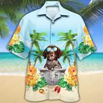 German Shorthaired Pointer Dog Lovers Beach Hawaiian Shirt