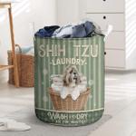 Shih Tzu Dog Lovers Laundry Basket