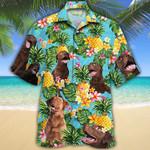 Chesapeake Bay Retriever Dog Lovers Pineapple Hawaiian Shirt