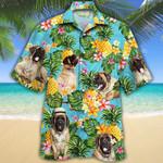 English Mastiff Dog Lovers Pineapple Hawaiian Shirt