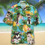 Miniature Schnauzer Dog Lovers Pineapple Hawaiian Shirt