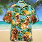 Poodle Dog Lovers Pineapple Hawaiian Shirt