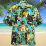 Staffordshire Bull Terrier Dog Lovers Pineapple Hawaiian Shirt