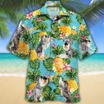 Standard Schnauzer Dog Lovers Pineapple Hawaiian Shirt