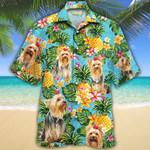 Yorkshire Terrier Dog Lovers Pineapple Hawaiian Shirt
