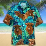 Highland Cattle Lovers Hawaiian Shirt