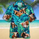 TX Longhorn Cattle Lovers Hawaiian Shirt