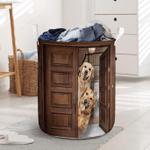 Golden Retriever Dog Lovers Funny Laundry Basket