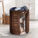 Boxer Dog Lovers Funny Laundry Basket