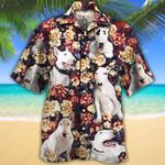 Bull Terrier Dog Lovers Red Plaid Pattern Hawaiian Shirt