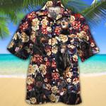 Doberman Pinscher Dog Lovers Red Plaid Pattern Hawaiian Shirt