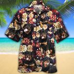 Rottweiler Dog Lovers Red Plaid Pattern Hawaiian Shirt