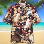Miniature Horse Lovers Red Plaid Pattern Hawaiian Shirt