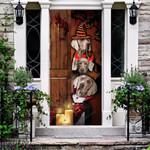 Weimaraner Dog Lovers Freaky Halloween Door Cover