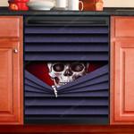 Funny Skeleton Hide And Seek Dishwasher Cover