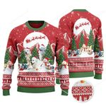 Great Pyrenees Dog Lovers Christmas Is Coming Knitted Sweater